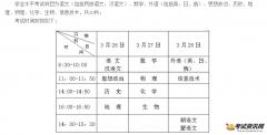 2016辽宁高中会考考试时间:2016年3月2