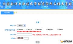2017北京中级会计职称准考证打印