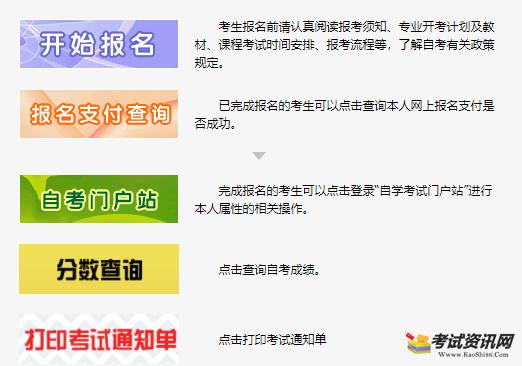 2019年10月海南自考报名入口